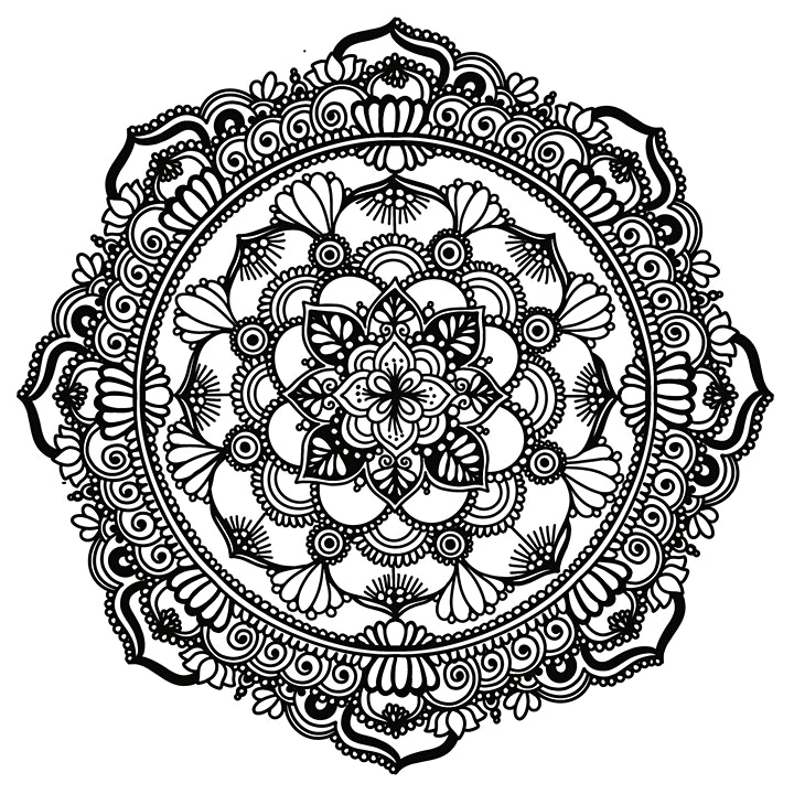 Mandala drawing workshop for beginners | Art Therapy Session for others image