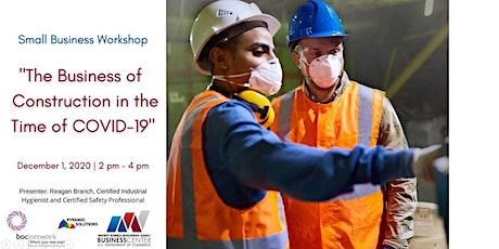 MBDA- The Business of Construction in the Time of COVID-19 tickets