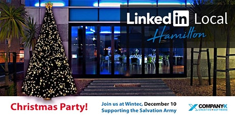 LinkedIn Local Hamilton Christmas Party 2020 tickets
