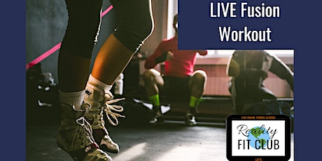 Mondays 11am PST LIVE Fit Mix XPress:30 min Fusion Fitness @ Home Workout tickets
