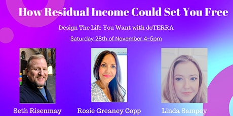 How Residual Income Could Set You Free tickets