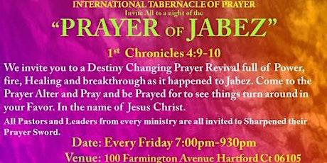 The Jabez Prayer Night tickets
