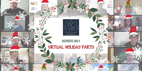 PCYP Members Only Virtual Holiday Party - Games, Prizes,  & Gift Giveaways tickets