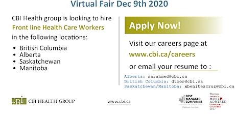 CBI Virtual Job Fair - December 9 2020 tickets