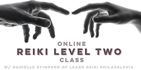Online Reiki Level 2 Class -Weekend Intensive tickets