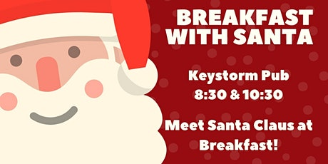 Breakfast with Santa at the Keystorm 10:30am December 6th tickets
