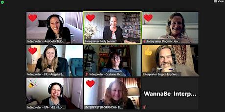 Hands-on Zoom simultaneous interpreting workshop (12/13) tickets