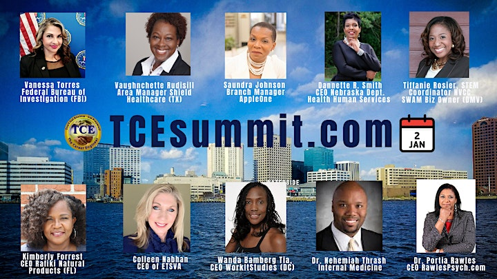 """It's TIME 4 NEXT!"" - TCE Vision Summit image"