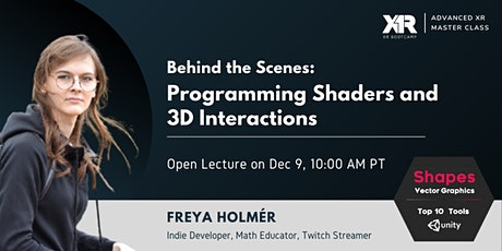 Behind the Scenes: Programming Shaders and 3D Interactions tickets