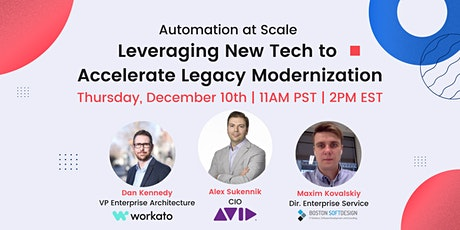 Automation at Scale: Leveraging New Tech to Accelerate Legacy Modernization tickets