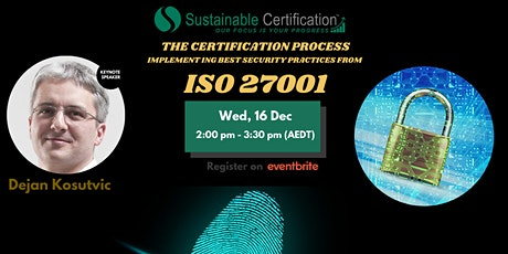 Implementing Security Methods from ISO 27001: The Certification Process tickets