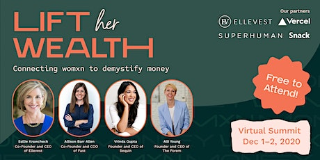 Lift Her Wealth: Connecting womxn to demystify money tickets