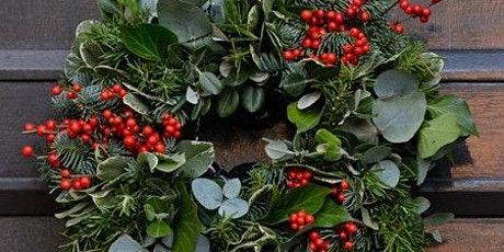 Make Your Own Fresh Christmas Door Wreath Workshop tickets