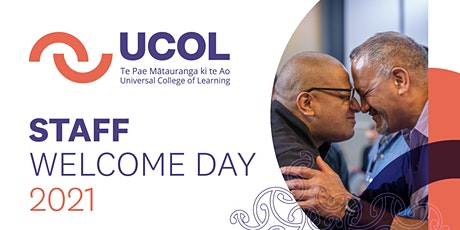 UCOL Staff Welcome Day 2021 tickets