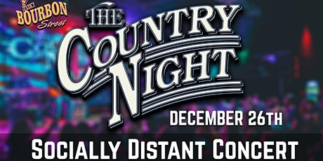 The Country Night at 115 Bourbon Street- Saturday, December 26 tickets