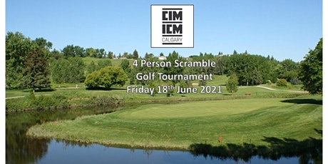 CIM Calgary - Inaugural Scramble Golf Tournament 2021 tickets