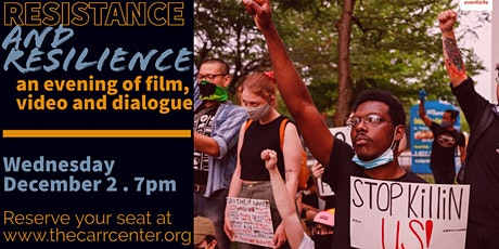 RESISTANCE AND RESILIENCE: an evening of film, video and dialogue tickets