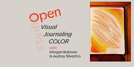 Open Studio: Visual Journaling COLOR tickets