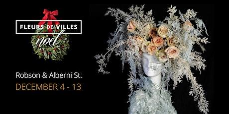 Fleurs de Villes Noël - A Socially-Spaced Festive Floral Trail tickets