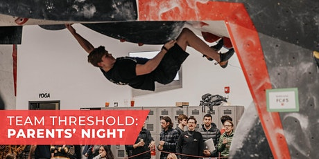 Team Threshold: Parents' Night tickets