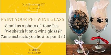 Paint Your Pet Wine Glass tickets