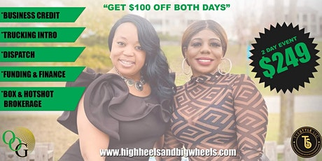 High Heels and Big Wheels Round Table  Conference tickets