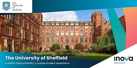 Estudia en la Universidad de Sheffield - sesión informativa en línea entradas