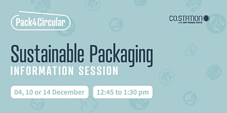 Sustainable packaging information session tickets