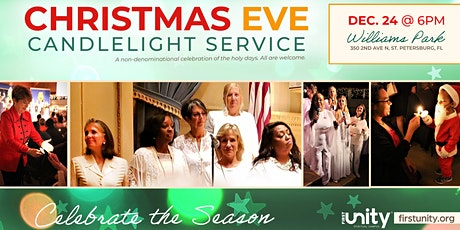Christmas Eve Candlelight Service in Williams Park, St. Petersburg, FL tickets