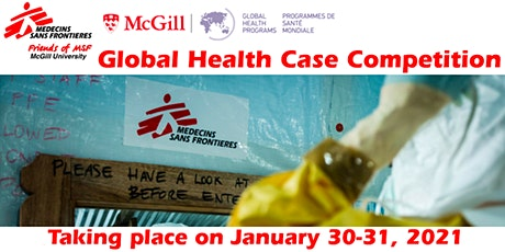 McGill Global Health Case Competition 2021 tickets