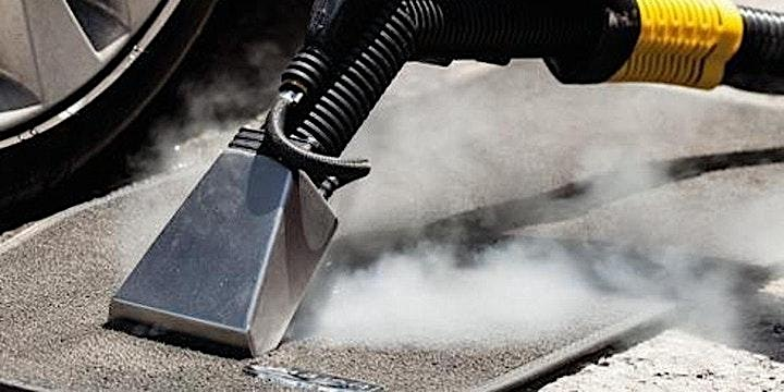 Car Steam Cleaning ZOOM Webinar and Steam Detailing Demonstration image
