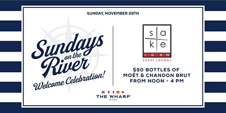Sundays on the River: Sake Room Sushi - Welcome Celebration tickets