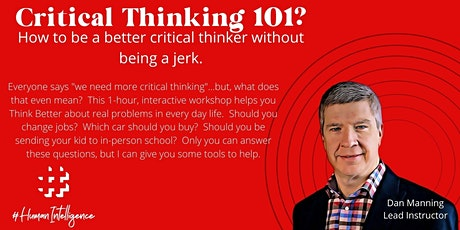 Critical Thinking 101 tickets