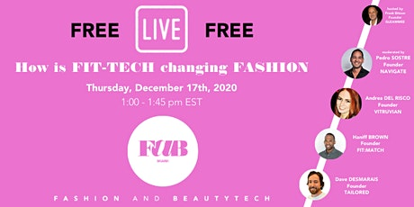 FREE Webinar Fashion and BeautyTech MIAMI Founders series tickets