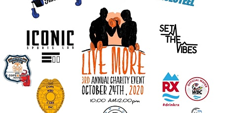 GoLiveMore 3rd Annual Charity Cancer Event tickets