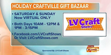 Shop Small Holiday Craftville Gift Bazaar has been moved to ONLINE tickets