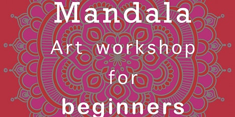 Mandala drawing workshop for beginners | Art Therapy Session for others tickets