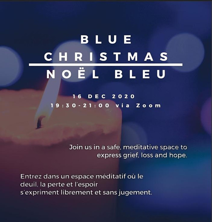 BLUE CHRISTMAS ~ NOËL BLEU - 2020 image