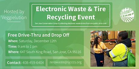 Electronic Waste & Tire Recycling Event tickets