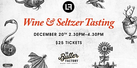 Wine and Seltzer Tasting tickets