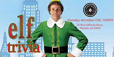 Elf Trivia at Copper Blues Rock Pub & Kitchen tickets