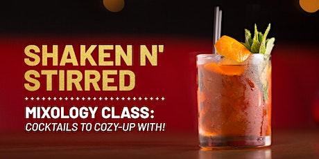 Shaken N' Stirred: Cozy Cocktails Class tickets