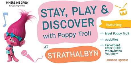Explore and Discover our Strathalbyn Centre with Princess Poppy Troll! tickets