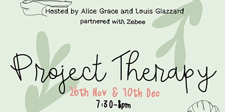 Poetry Workshop - Project Therapy (Part One) tickets