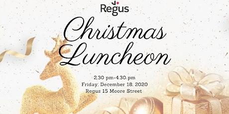 REGUS - CHRISTMAS LUNCHEON 2020 tickets
