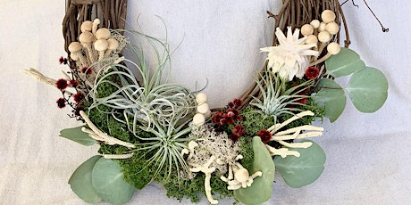 Urban Farmgirls DIY Living Airplant Wreath Workshop tickets