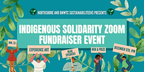 Indigenous Solidarity Zoom Fundraiser tickets
