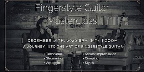 Fingerstyle Guitar Masterclass tickets