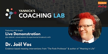 Yannick's Coaching Lab (demo, discussion & practice) with Dr. Joel Vos tickets