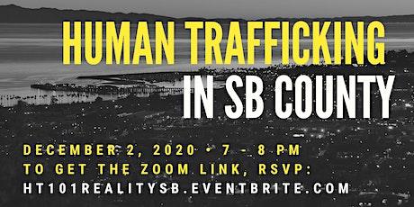 Reality SB - Human Trafficking 101 Webinar tickets